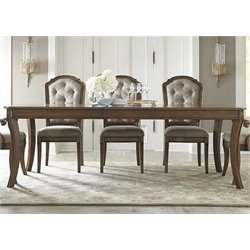 Liberty Furniture Amelia Dining Table in Antique Toffee