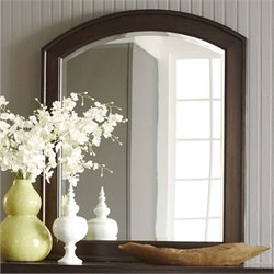 Avalon Mirror in Dark Truffle