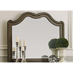 Liberty Furniture Cotswold Landscape Mirror in Cinnamon