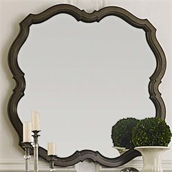 Liberty Furniture Cotswold Decorative Mirror in Cinnamon