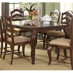Liberty Furniture Woodland Creek Dining Table in Rust Russet