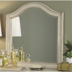 Liberty Furniture Rustic Traditions II Vanity Deck Mirror in White