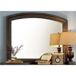 Liberty Furniture Southern Pines Mirror in Bark