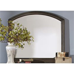 Liberty Furniture Modern Country Mirror in Harvest Brown