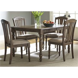 Candlewood Dining Set in Weather Gray