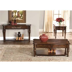 Liberty Furniture Andalusia 3 Piece Coffee Table Set in Vintage Cherry