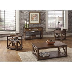 Liberty Furniture Chesapeake Bay 3 Piece Coffee Table Set in Sunset