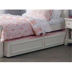 Liberty Furniture Arielle Twin Panel Trundle in Antique White
