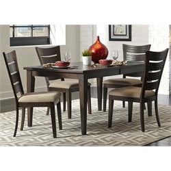 Pebble Creek II Dining Set in Weathered Tobacco