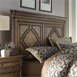 Amelia Panel Headboard in Antique Toffee