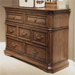 Liberty Furniture Amelia Media Dresser in Antique Toffee