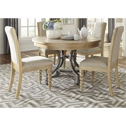 Harbor View 5 Piece Round Dining Set (B)