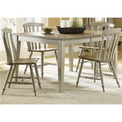 Al Fresco Dining Set in Driftwood and Taupe