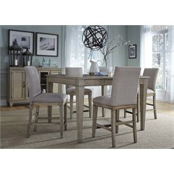 Liberty Furniture Grayton Grove 5 Piece Counter Height Dining Set
