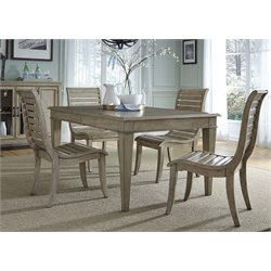 Grayton Grove Dining Set in Driftwood (C)