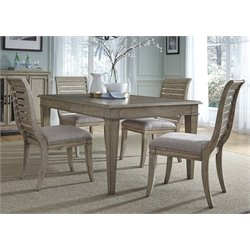 Grayton Grove Dining Set in Driftwood (A)