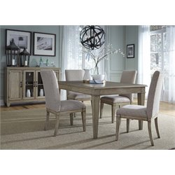 Grayton Grove Dining Set in Driftwood (B)