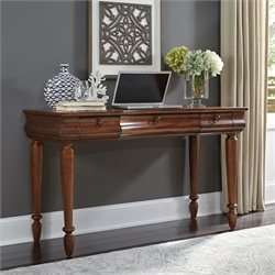 Rustic Traditions Bedroom Vanity Desk in Rustic Cherry