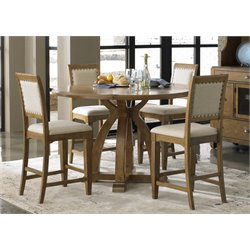 Liberty Furniture Town and Country 5 Piece Counter Height Dining Set