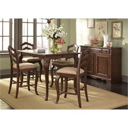 Liberty Furniture Woodland Creek 5 Piece Counter Height Dining Set