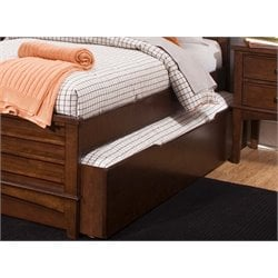 Liberty Furniture Chelsea Square Twin Trundle Unit in Tobacco
