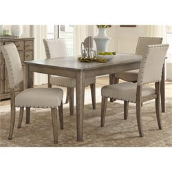 Weatherford Dining Set in Brownstone Caramel