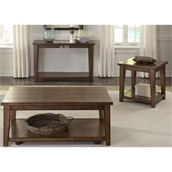 Liberty Furniture Lancaster II 3 Piece Coffee Table Set