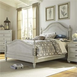 Harbor View III Poster Bed in Dove Gray