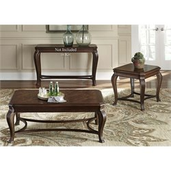 Liberty Furniture Ellington 3 Piece Coffee Table Set inCherry