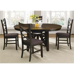 Bistro 5 Piece Oval Dining Set