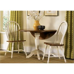 Low Country Drop Leaf Pedestal Dining Table