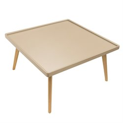 Retro Cafe Square Coffee Table in