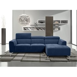 Diamond Sofa Gemma 2 Piece Fabric Right Facing Sectional