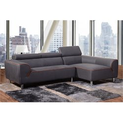 Diamond Sofa Impulse 2 Piece Right Facing Sectional