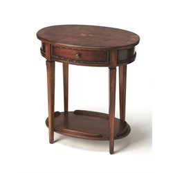 Butler Specialty Oval End Table-SH3