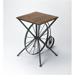 Butler Specialty Industrial Chic End Table in Multi-Color