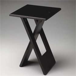 Butler Specialty Butler Loft Hammond Folding End Table in Black