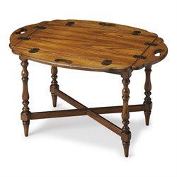 Butler Specialty Masterpiece Manchester Butler Table in Vintage Oak