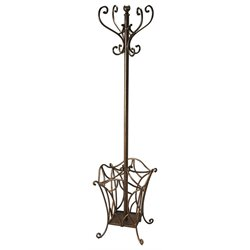 Butler Specialty Metalworks Vernier Coat Rack in Iron