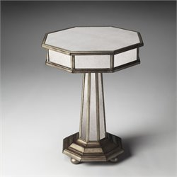 Butler Specialty Masterpiece Elena Mirrored End Table