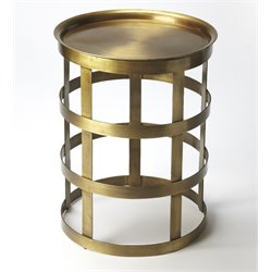 Butler Specialty Industrial Chic Regis End Table in Industrial Chic