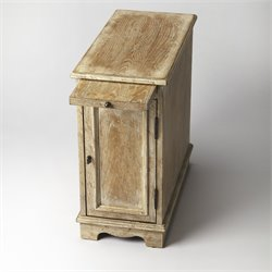 Butler Specialty Masterpiece Winslow End Table in White Washed