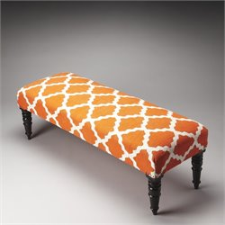 Butler Specialty Lyon Upholstered Bench in Cotton