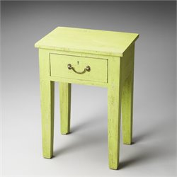 Butler Specialty Artifacts Avignon End Table in Green Solid Wood