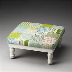 Butler Specialty Artifacts Hildy Stool in Patchwork