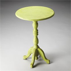 Artifacts Duxbury Pedestal Table
