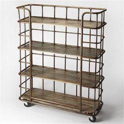 Butler Specialty Industrial Chic Antioch 4 Shelf Etagere