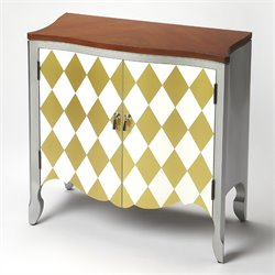 Butler Specialty Modern Expressions Iola Door Chest in Harlequin