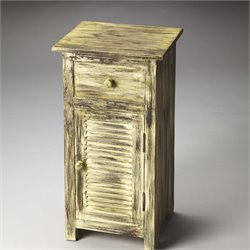 Butler Specialty Artifacts Ambrose End Table in Rustic