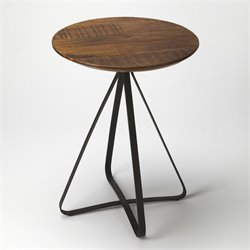 Butler Specialty Industrial Chic End Table in Industrial Chic